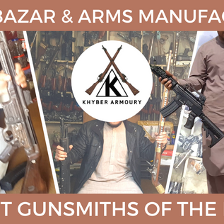 The Last Gunsmiths of The Khyber Pass
