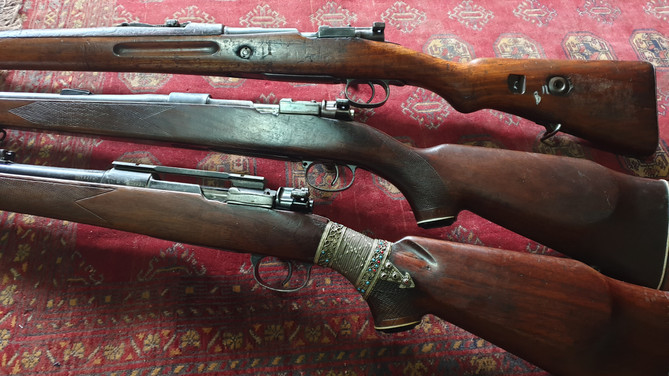 7.92x57mm Rifles & Embellishment | Darra Adamkhel, FATA, Pakistan