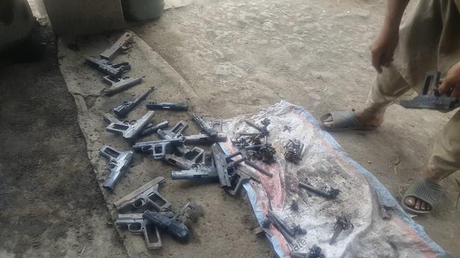 Arms Components Post-Heat-Treat | Darra Adamkhel, FATA, Pakistan