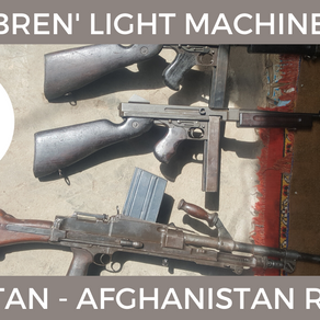 Bren Light Machine Guns In The Pak-Afghan Region