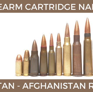 Colloquial Cartridge Nomenclature in Afghanistan and Pakistan