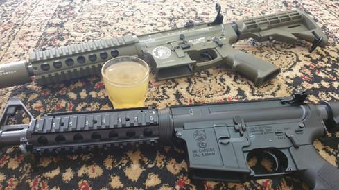 Pakistani Made AR15 / M4 Type Rifles   Peshawar, KPK, Pakistan
