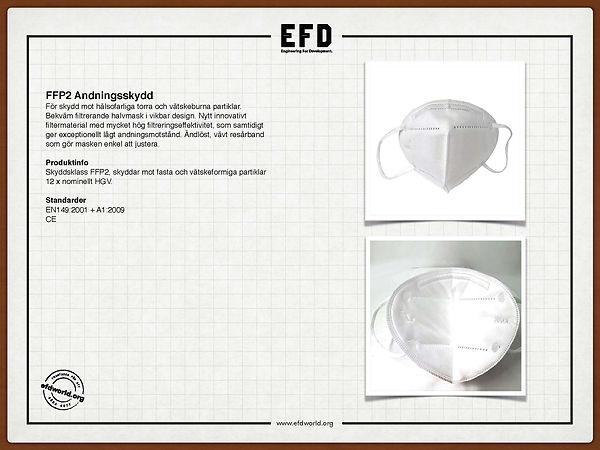 Produktdatablad - FFP2 Mask JANAWIK HEMS