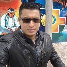 Diego Maenza, 2018 (Exteriores de la Casa de la Cultura Ecuatoriana, Sede Nacional Quito - Ecuador)