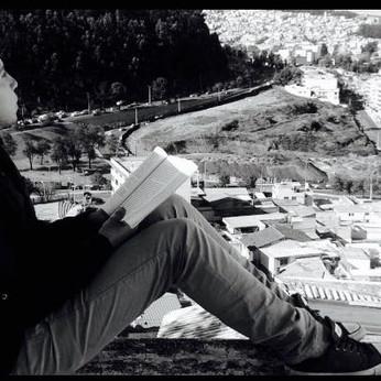"""Bryan Villacrés: """"La lectura es una forma de salvarse a uno mismo"""""""