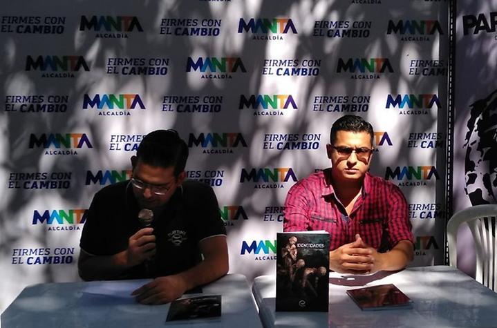 Diego Maenza, 2019 (Presentación del libro de relatos Identidades, Manta-Ecuador)
