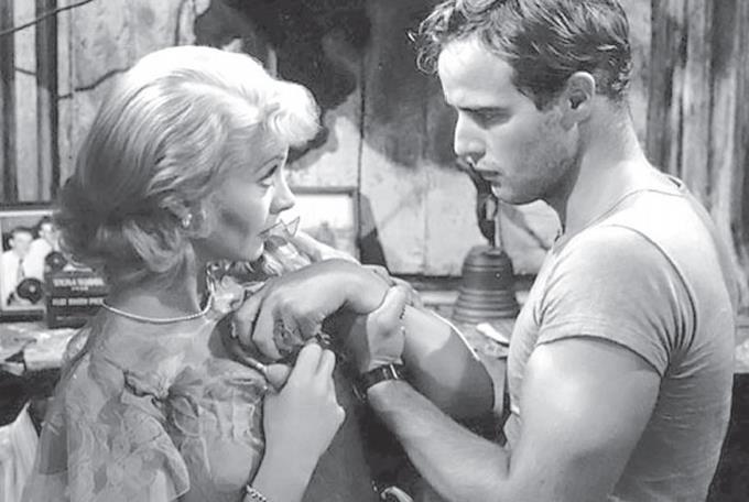 Vivien Leigh, Marlon Brando, Un tranvía llamado deseo, Elia Kazan