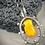 Thumbnail: Glass & Sterling Pendant