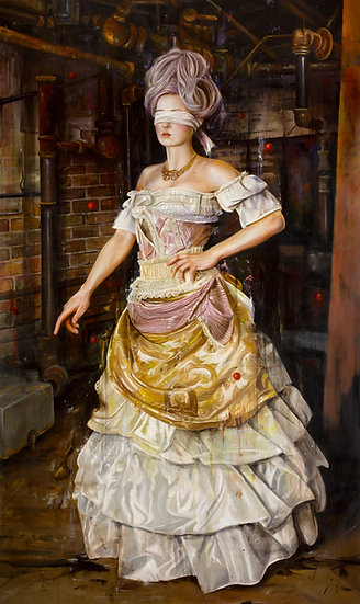 Portrait of Ms. Rychter   Karl M Jahnke
