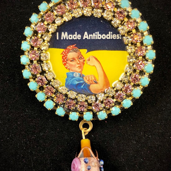 Brooch Badge | Nancy Josephson