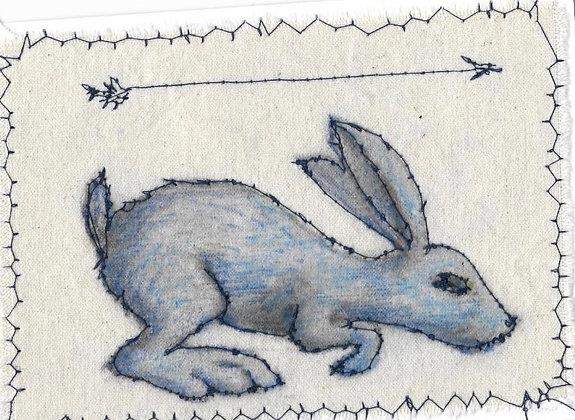 Onward | Stitched Card