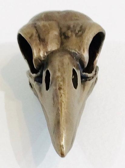 Raven Skull | Bronze Cast Cabinet or Drawer Pull