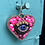 Thumbnail: Small Eye Heart Pendant