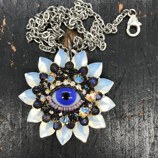 Eye Flower Pendant