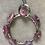 Thumbnail: Raw Ruby & Sterling Wheel Pendant