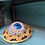 Thumbnail: Retro Glass Eye Brooch