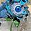 Thumbnail: Retro Eye Flower Brooch