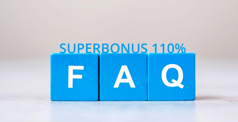 Superbonus 110% Domande e Risposte