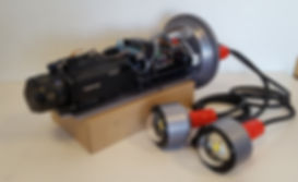 Subpace Pictures Scientific Underwater housing rated 2000 meters electronic