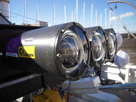 Industrial underwater camera deep housing