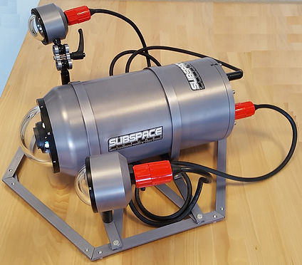 Subpace Pictures Scientific Underwater housing rated 2000 meters