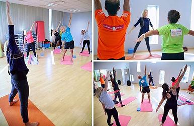 Cours de Yoga en entreprise dans l'Oise par Isabelle Compère