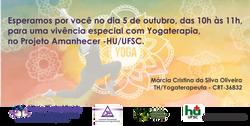 Convite vicencia yogaterapia outubro