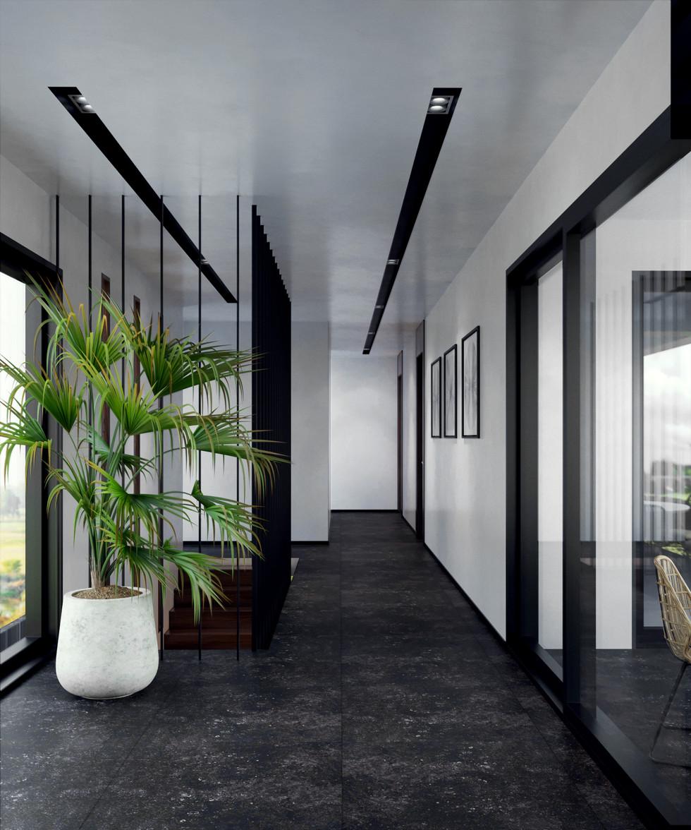 Villa iç mekan projesi