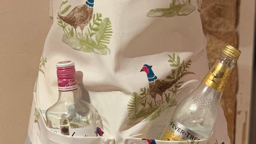 Cocky-locky gin apron!