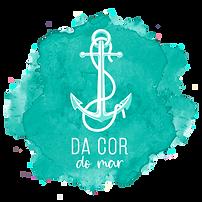Da cor do mar - logotipo  oficial - 20x2
