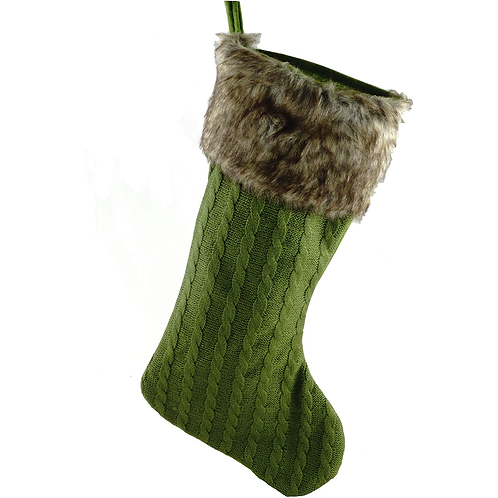 Green Sweater Stocking