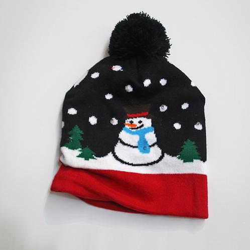 LED Christmas Snowman hat