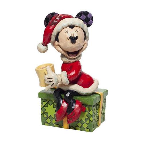 Santa Minnie w/ Hot Chocolate