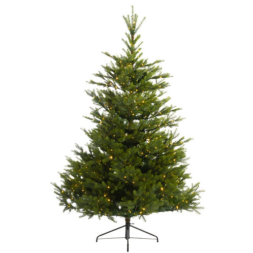 6' Arlberg Fir Tree includes Multi and Clear Lights