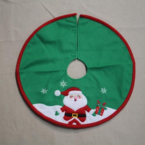 "18"" Santa Mini Tree Skirt"