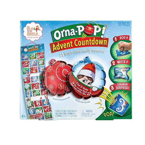 ORNA-POP! Advent Countdown