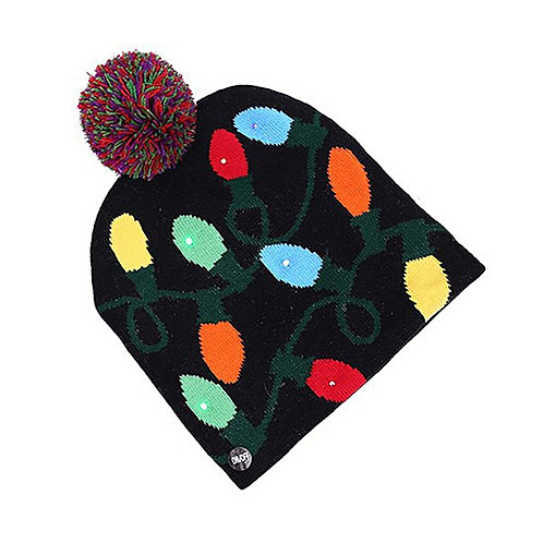 LED Christmas Lights Hat