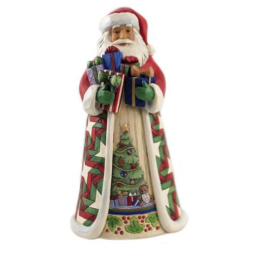 Santa Arms Full of Gifts