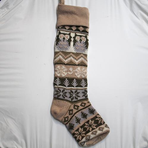Owl Knit Stocking