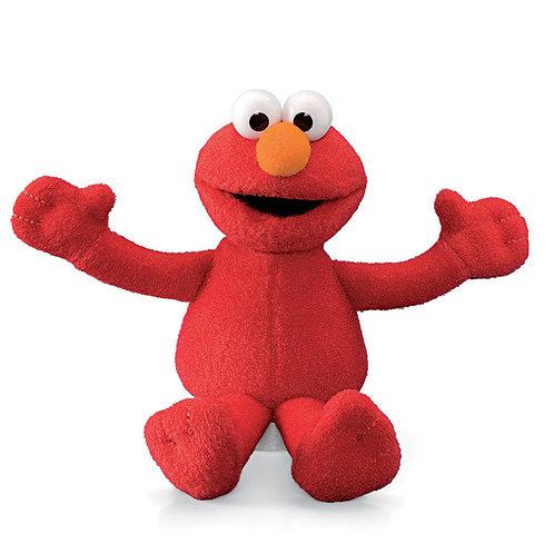 "Elmo Beanbag Plushie, 6"""