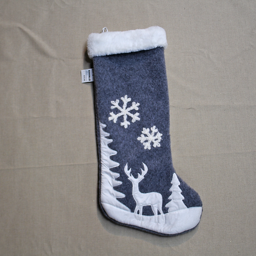 Winter Scene Stocking