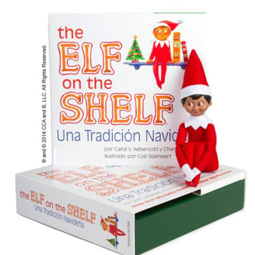 Elf on the Shelf Spanish Boy with Book