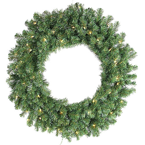 "30"" Norway Pine Wreath LIT or UNLIT"