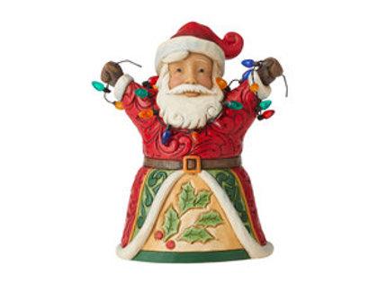 Pint Sized Santa w/ Lights