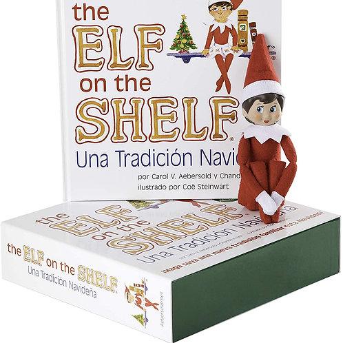 Elf on the Shelf Spanish Girl with Book