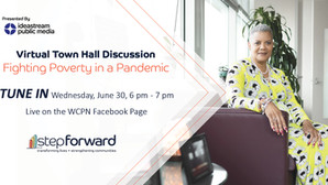 Fighting Poverty in a Pandemic: Step Forward President and CEO to Participate in Virtual Town Hall