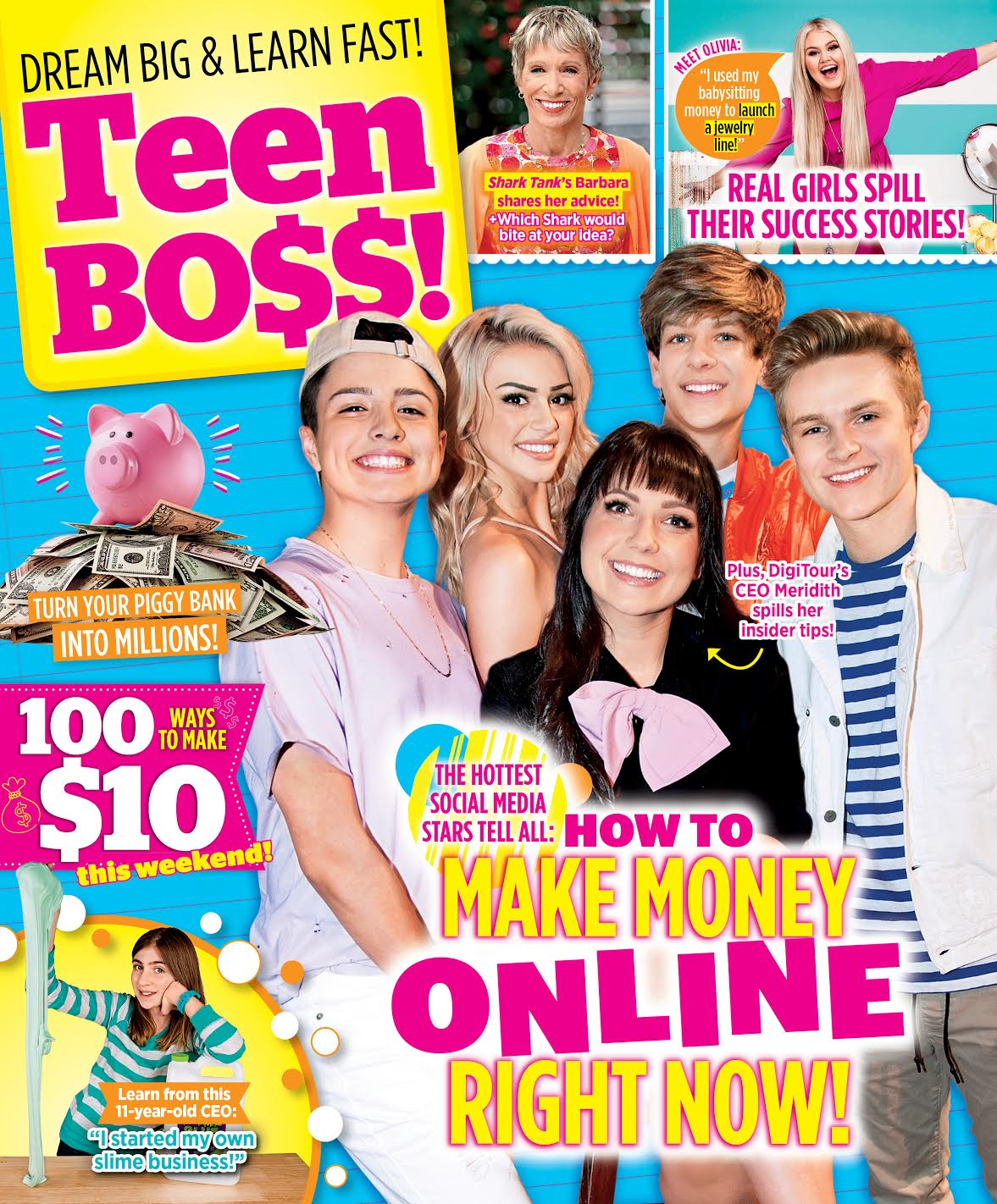 Teen Boss Cover