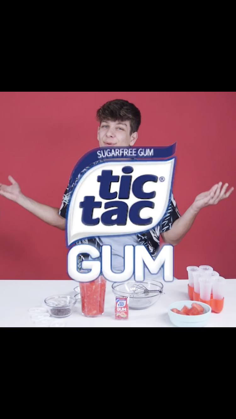 Nathan Triska - TicTac GUM Ad