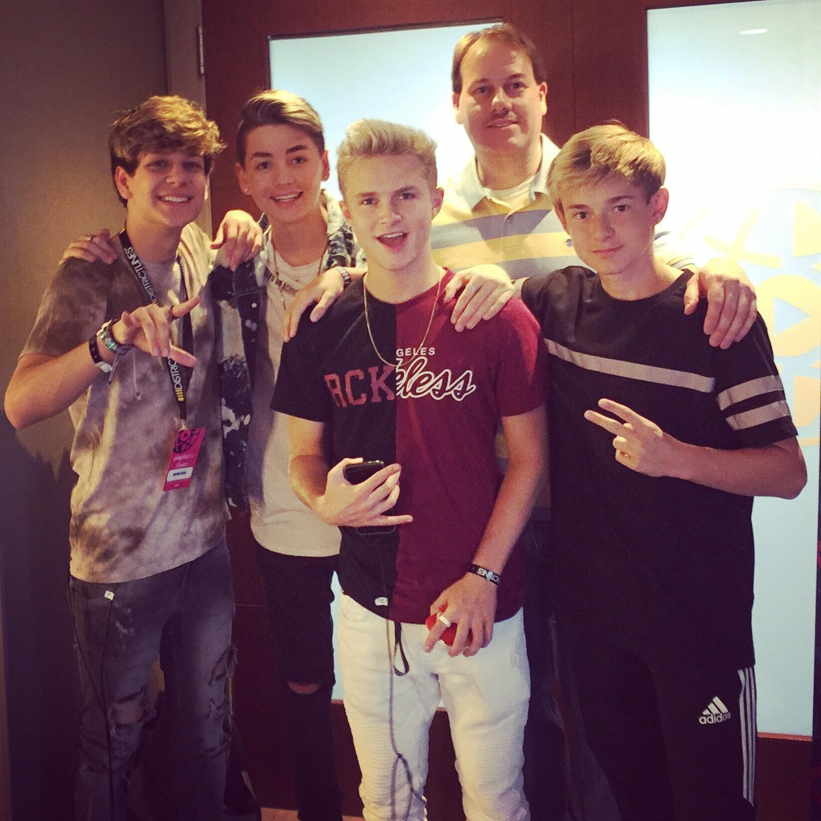 Nathan, Noah,Simon, Brett