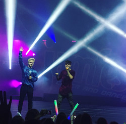 Nathan & Simon on stage at RYH